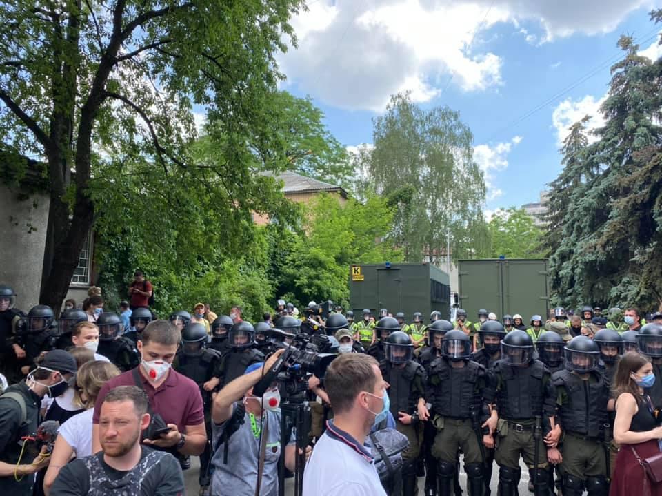 Несколько человек задержаны / фото Facebook Ярэма Дух