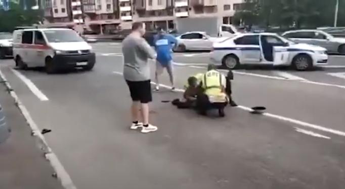 Ранены три человека / скриншот