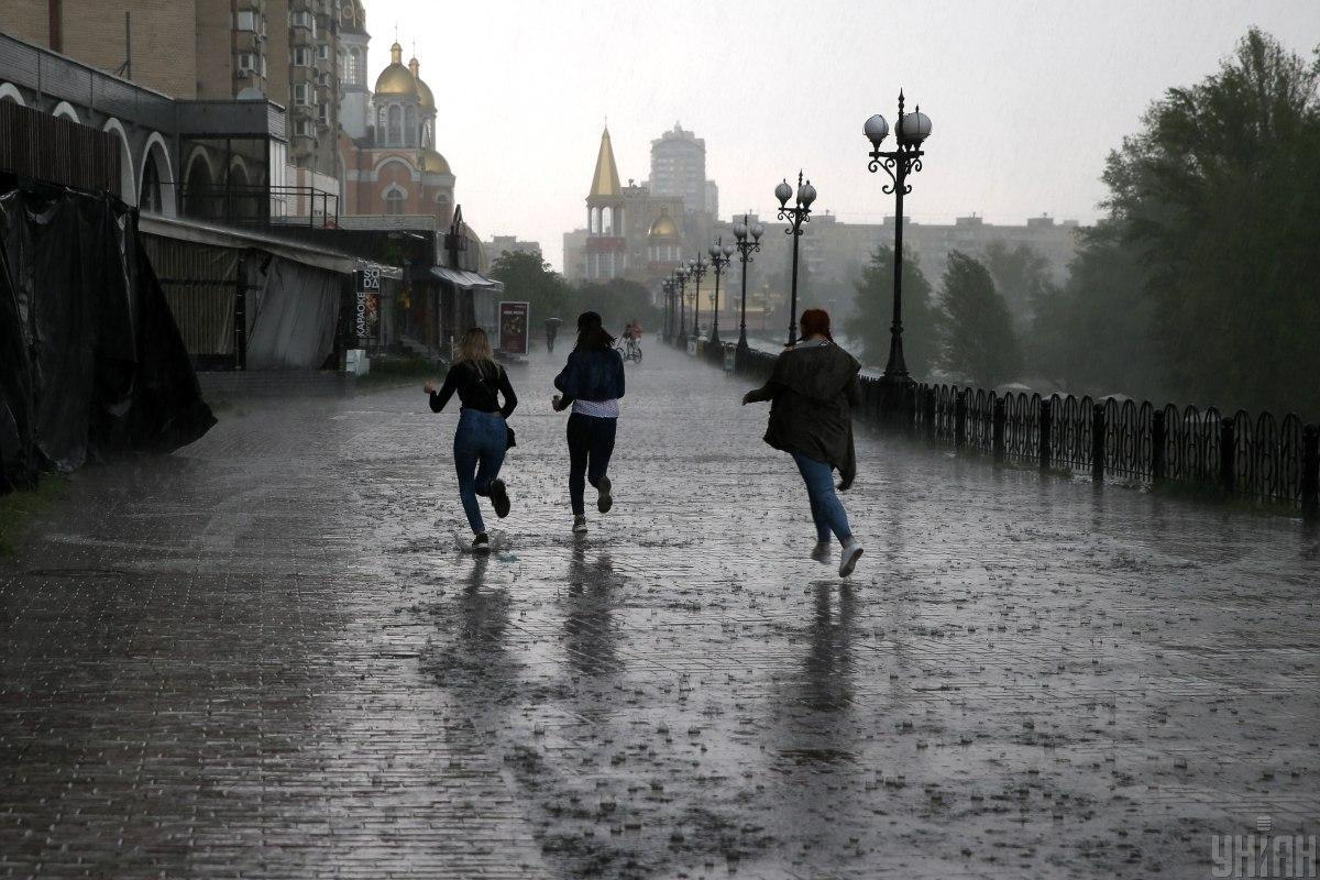 Погода у Києві сьогодні буде дощовою / фото УНІАН