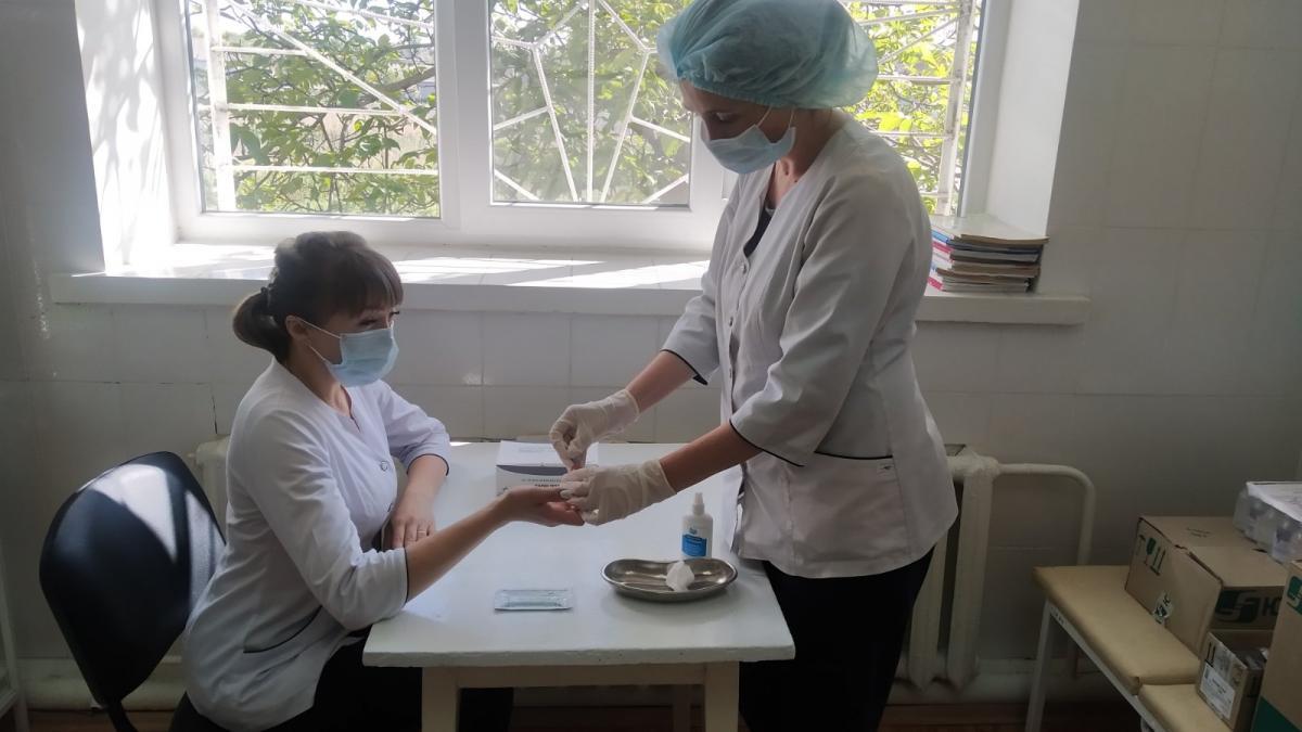 Содействиеблаготворителей помогает медикам района бороться с пандемией