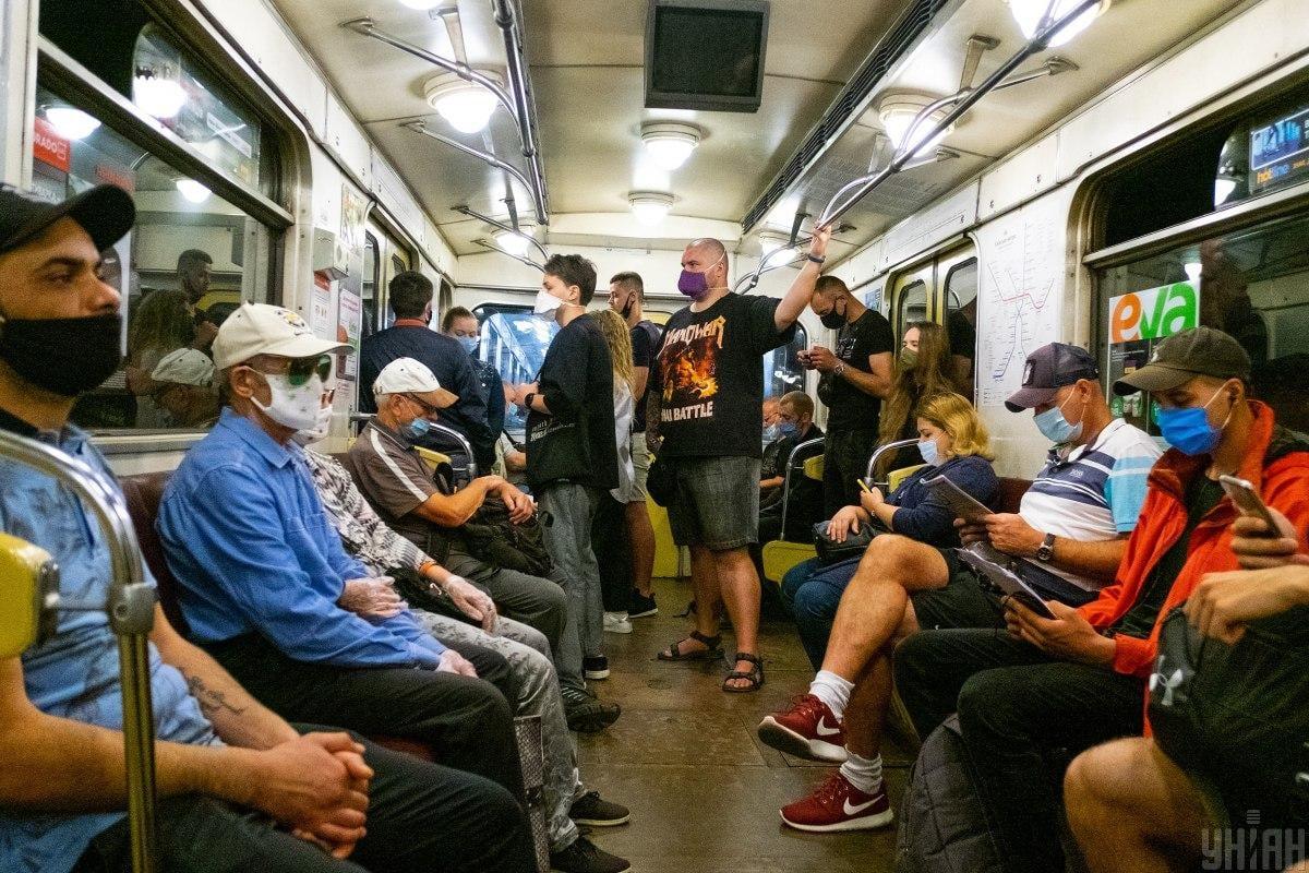"""В 2020 году станция """"Академгородок"""" стала самой посещаемой среди пассажиров \ / фото УНИАН"""