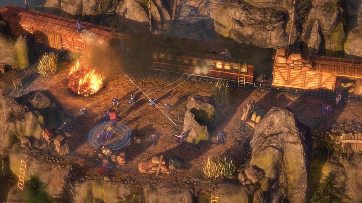 Игроки могут загрузитьбесплатную демоверсию Desperados III в Steam/ скриншот