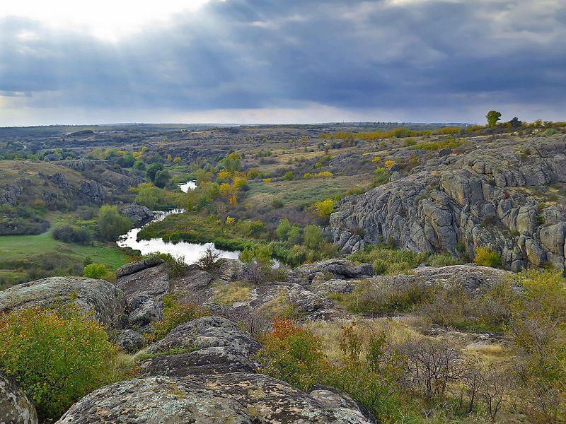 Актовский каньон в Николаевской области / фото ru.wikipedia.org / Любов Касап