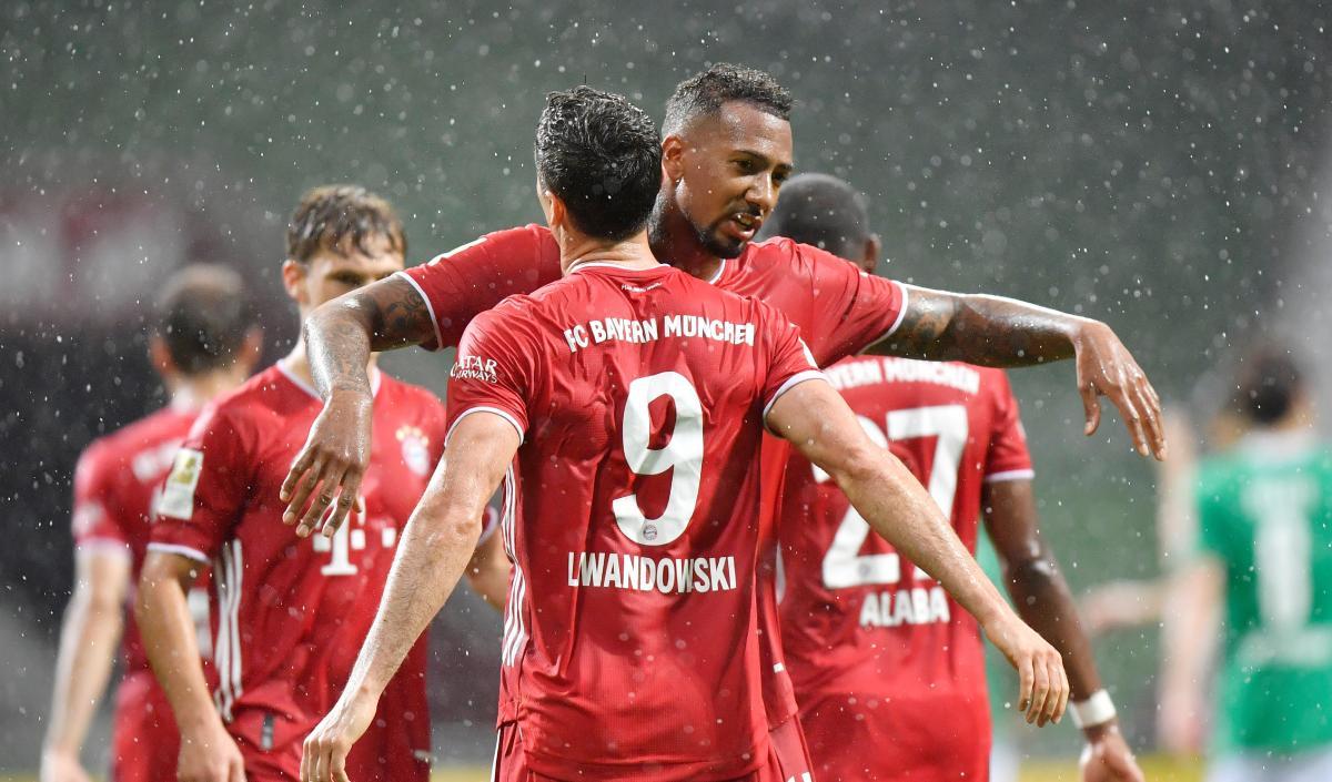 Бавария удержала победу в меньшинстве / фото REUTERS