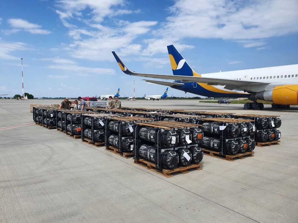 США передають Україні боєприпаси і комплекси Javelin/ фото US Embassy Kyiv Ukraine / Facebook