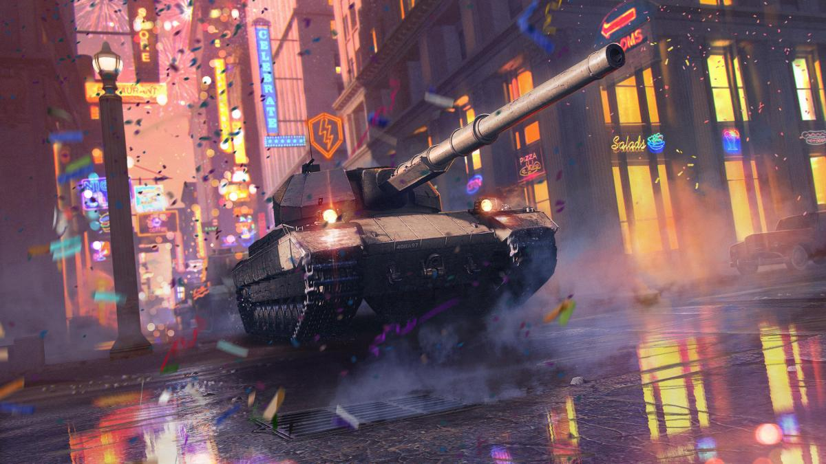 World of Tanks Blitz празднует день рождения / wargaming.net