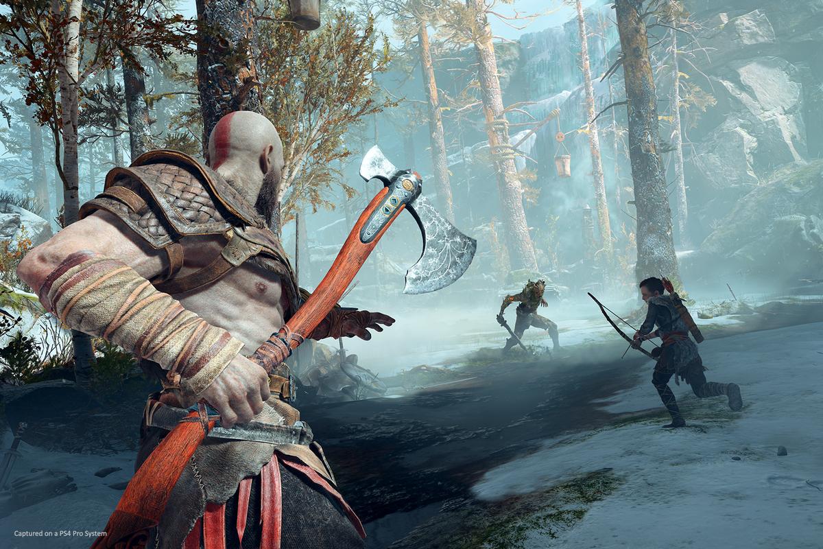 God of War стала лучшей игрой 2018 года/ скриншот