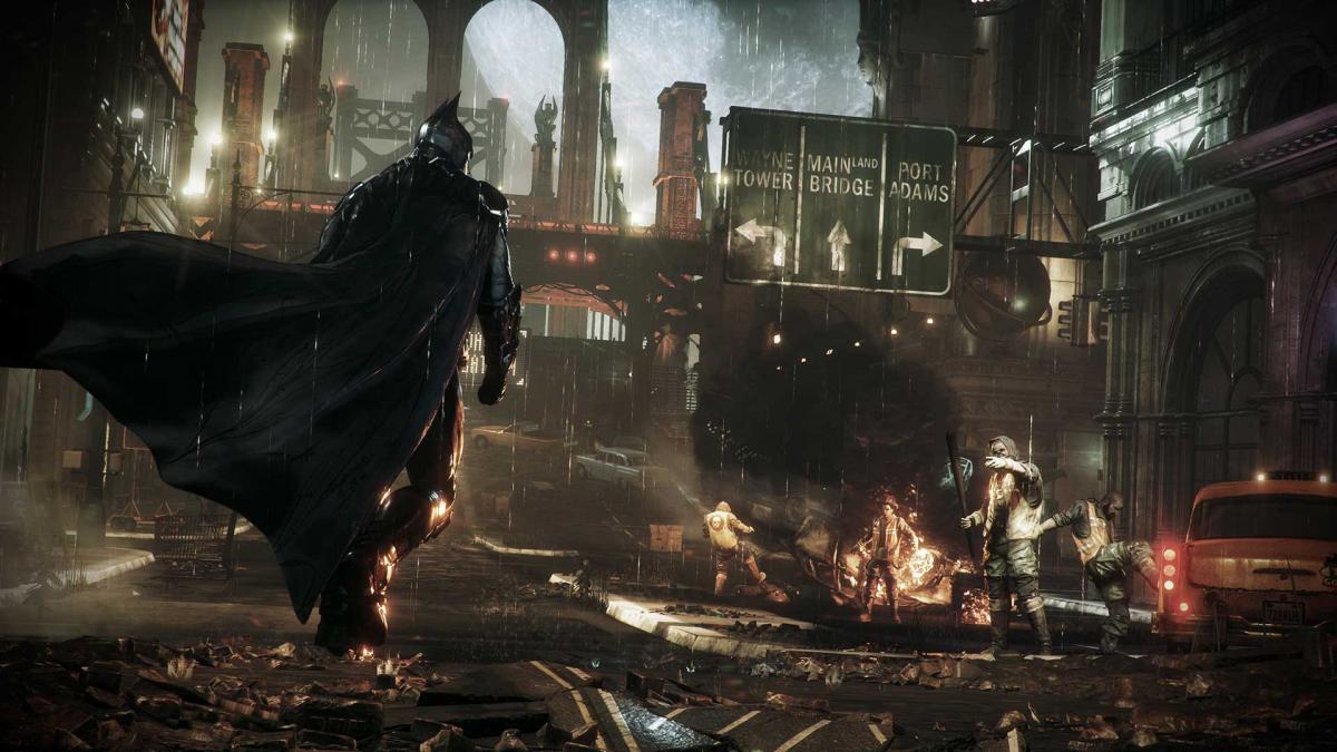 Batman: ArkhamKnight последняя на сегодня часть серии /store.playstation.com