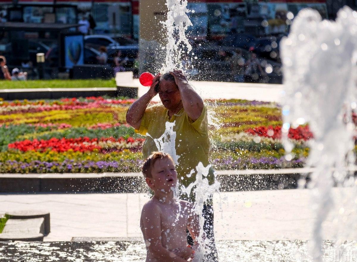 Погода в Киеве будет жаркой / Фото УНИАН