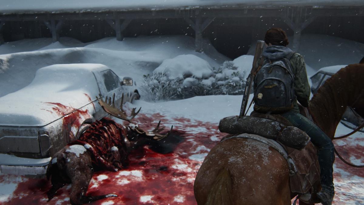 В The Last of Us Part II игрока всегда подстерегает опасность / скриншот