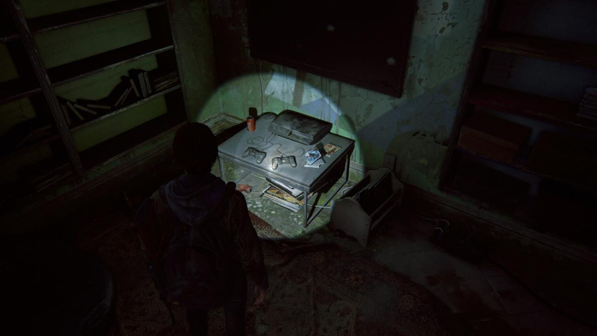 PlayStation 3 в мире постапокалипсиса / скриншот