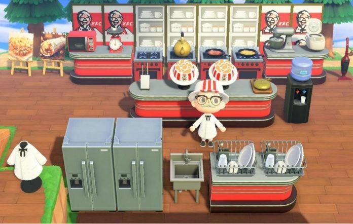 KFC створила свій острів в Animal Crossing: New Horizons / Nintendo