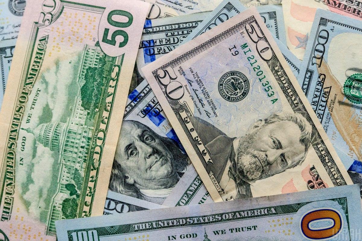 Гривня по официальному курсу снизилась к доллару / фото УНИАН