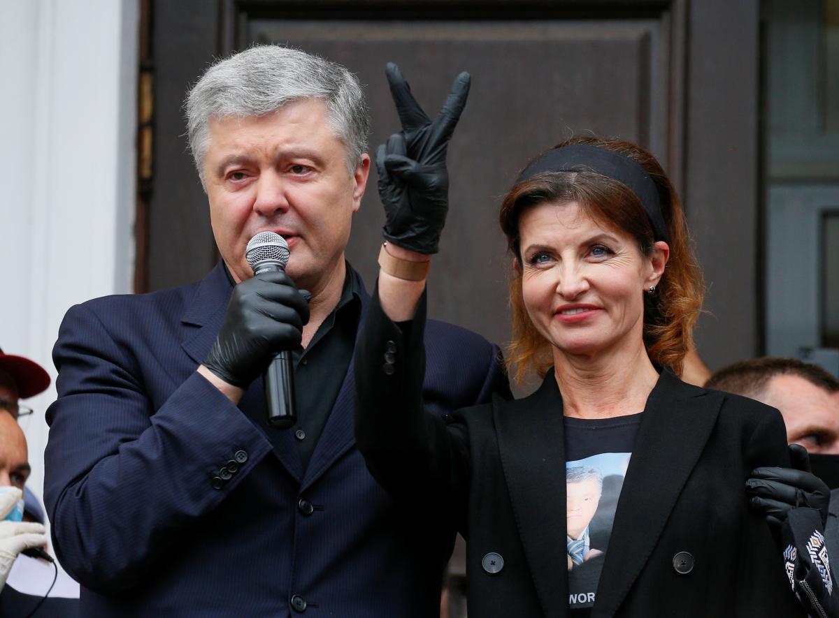 Стало известно, что задекларировали Петр и Марина Порошенко \ REUTERS