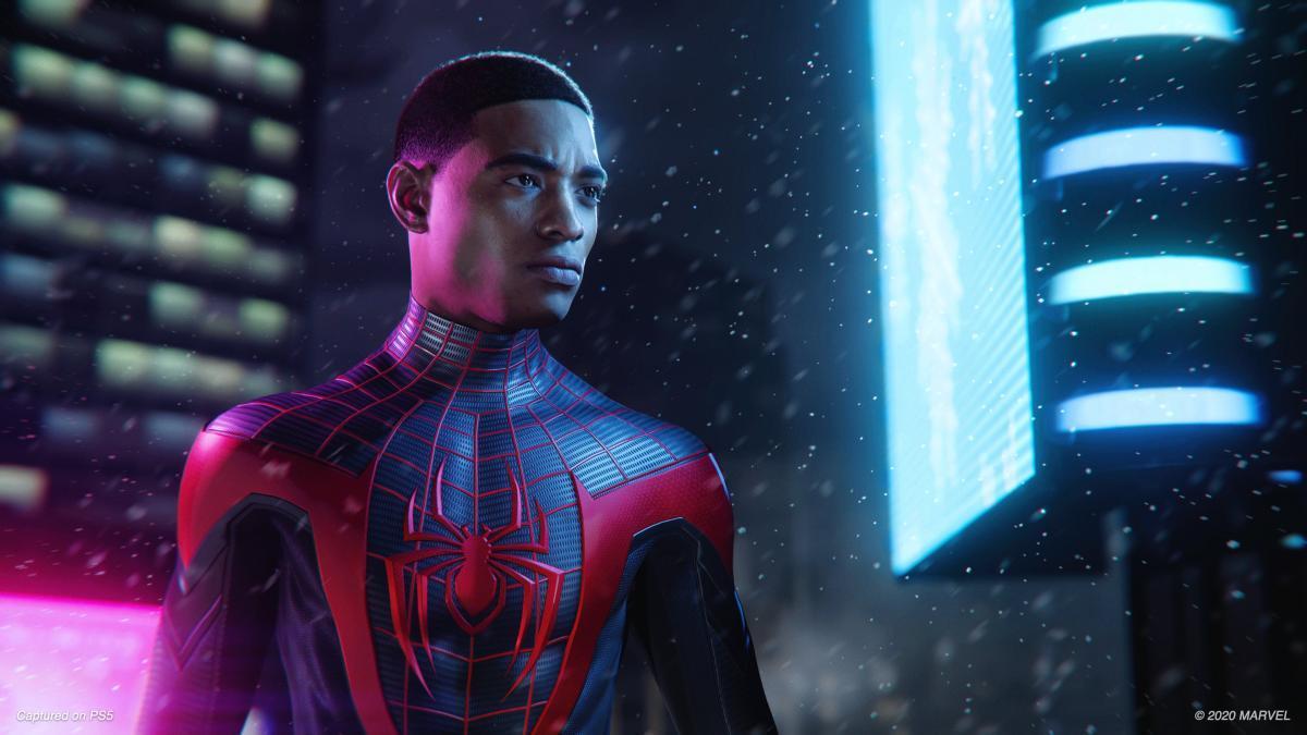Разработчики поделились первыми подробностями игры Spider‑Man: Miles Morales / скриншот