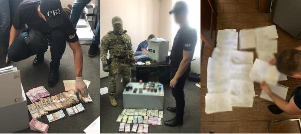 В Днепре при обыске на КП обнаружили миллионналичных / фото dnipr.gp.gov.ua
