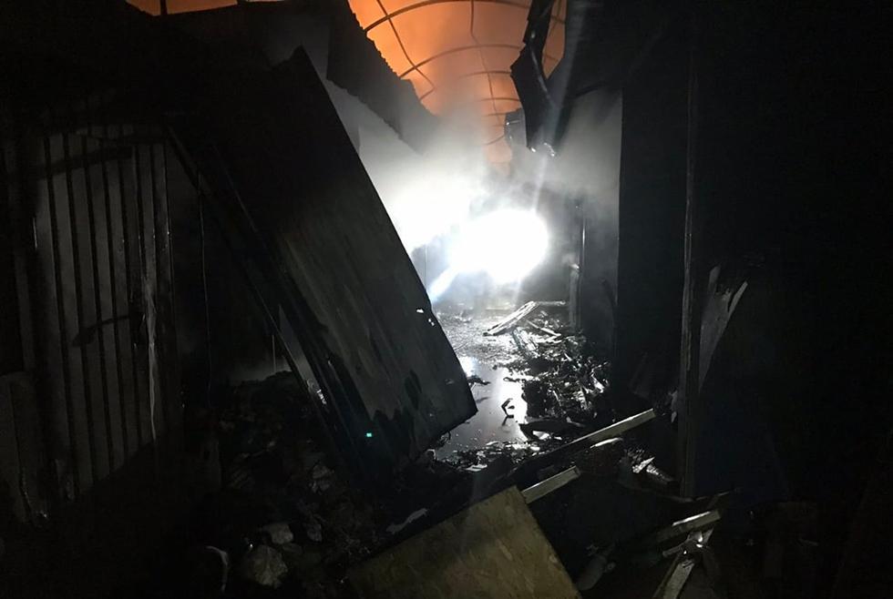 В результате пожара погибших и пострадавших нет / dp.dsns.gov.ua