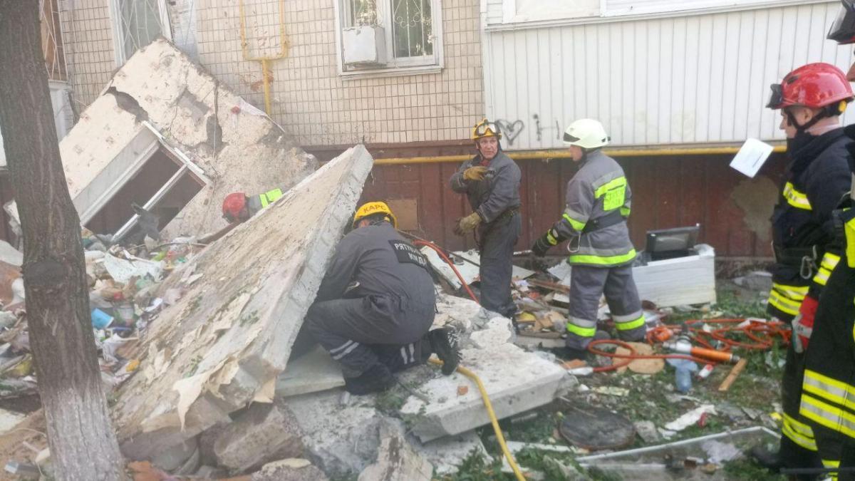 На месте взрыва обнаружен еще один погибший / фото: КГГА
