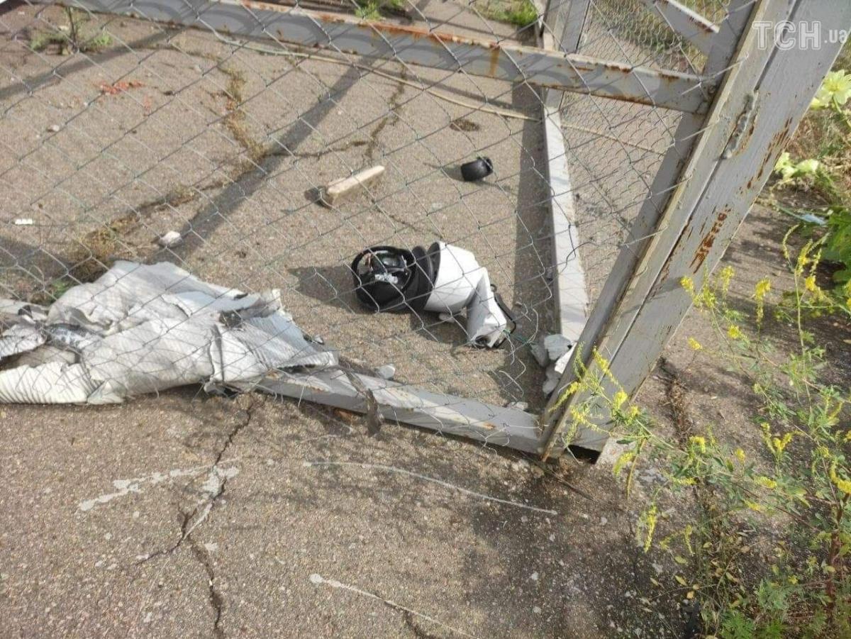 Камера ОБСЕ пострадала после обстрела / фото ТСН