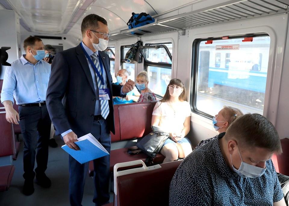 УЗ и полиция провели рейд / / фото uz.gov.ua