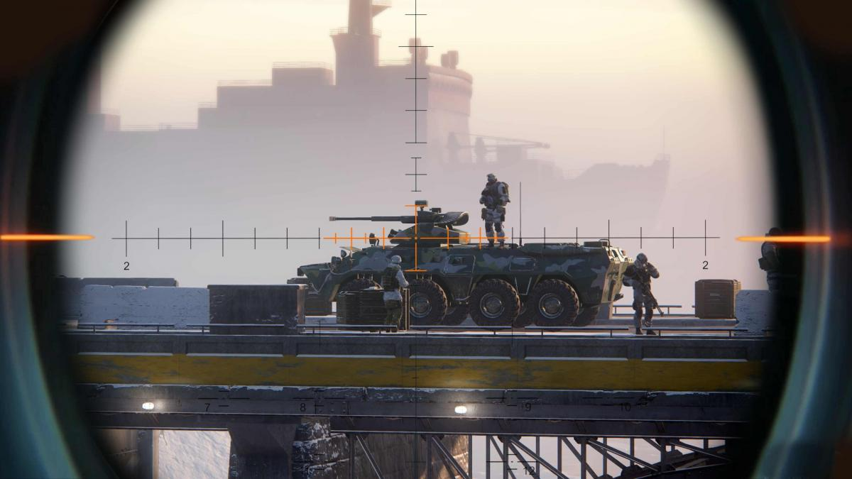 Кадр из Sniper: Ghost Warrior Contracts / store.playstation.com