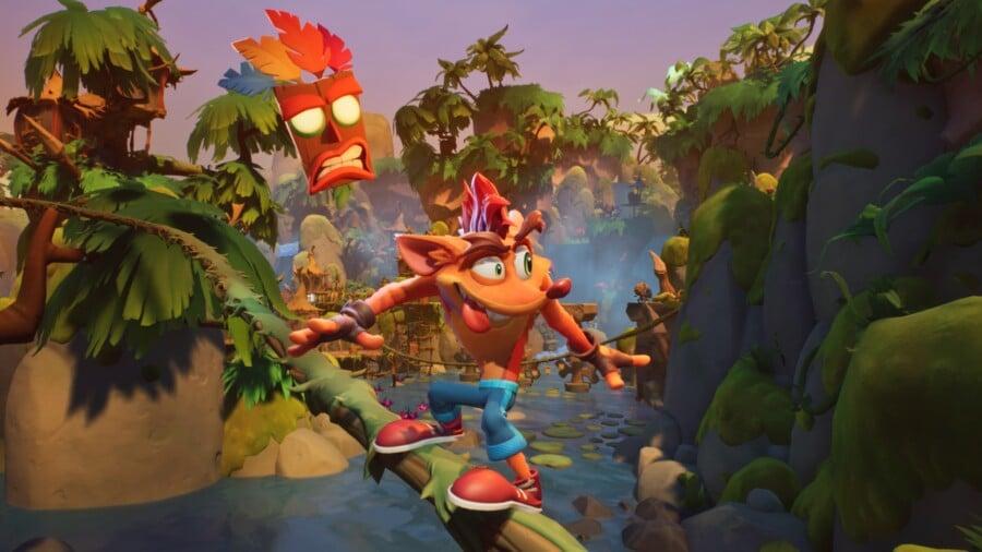Crash Bandicoot 4: it's About Time вийде 2 жовтня / скріншот
