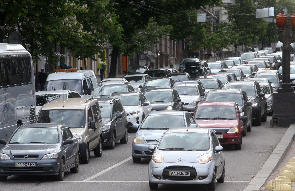 Ситуация на дорогах столицы / фото УНИАН