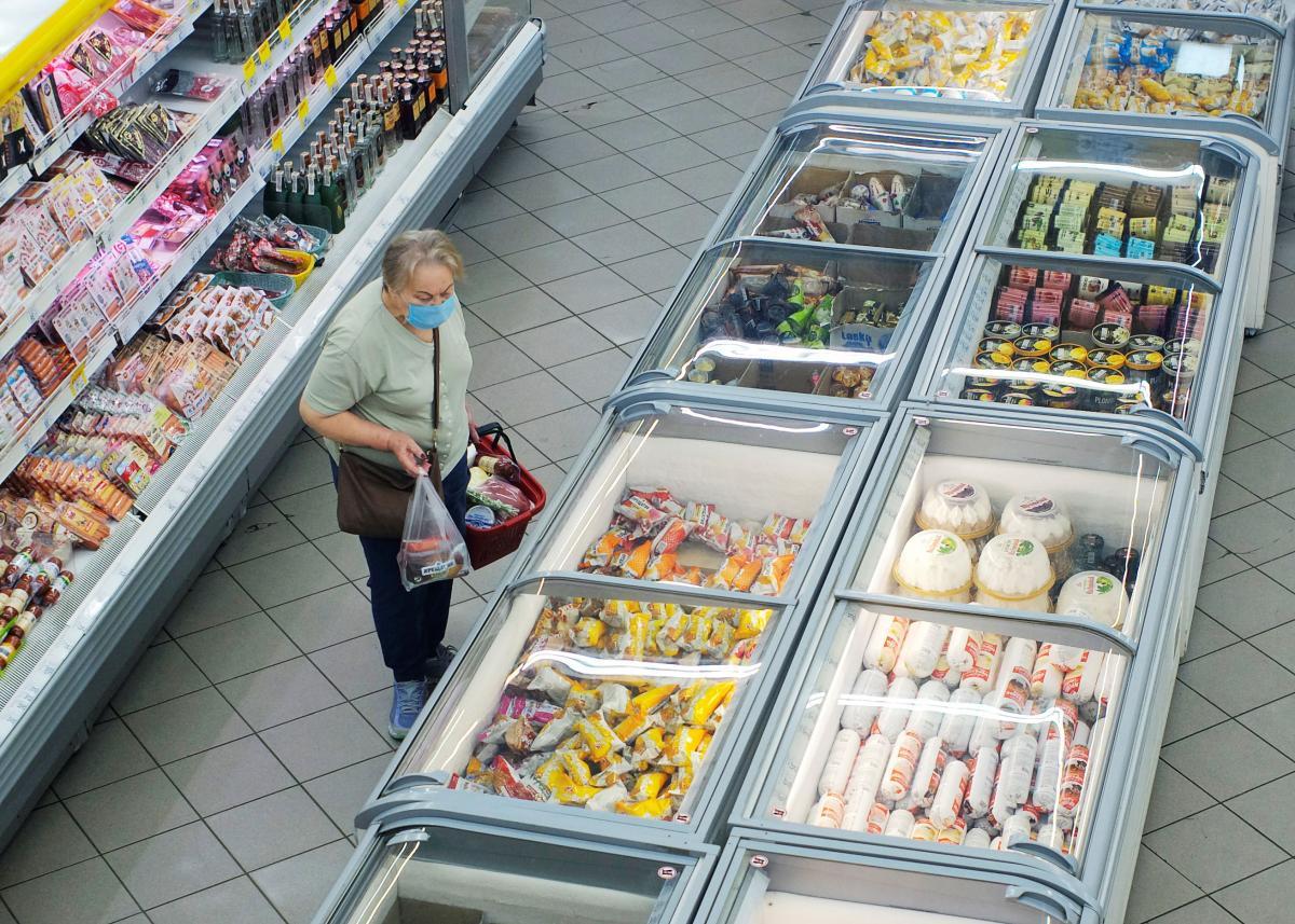 Рост цен в Украине в сентябре замедлился до 2,3% /REUTERS