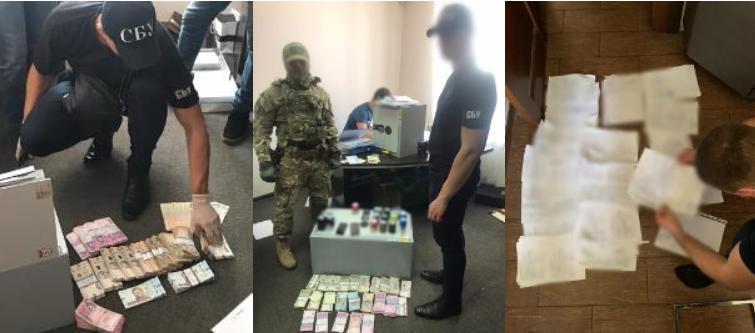 Силовики провели низку обшуків / фото прокуратури Дніпропетровщини