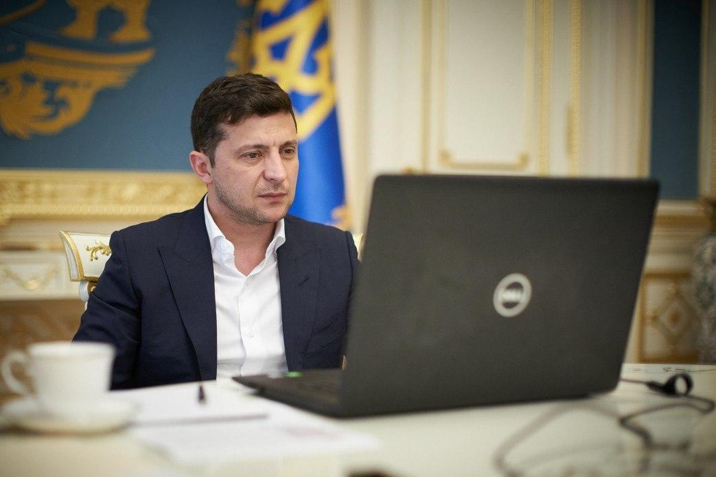 Президент Украины Владимир Зеленский / фото president.gov.ua