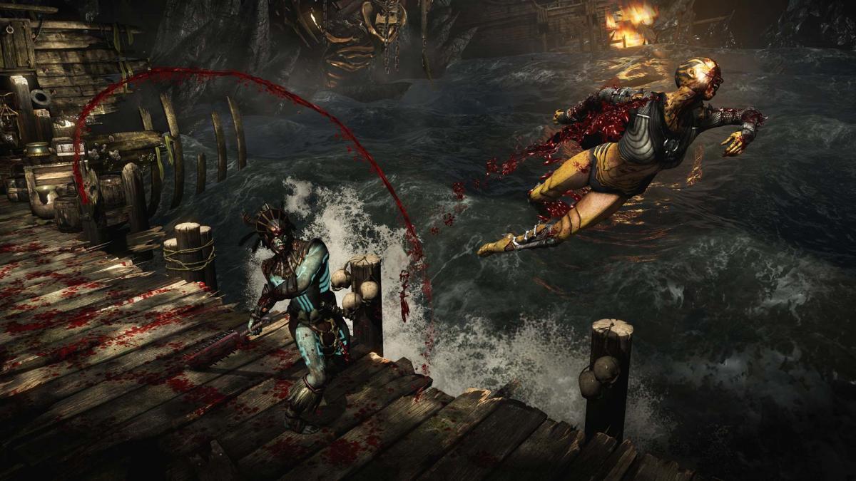 Mortal Kombat критиковали за чрезмерное насилие / store.steampowered.com