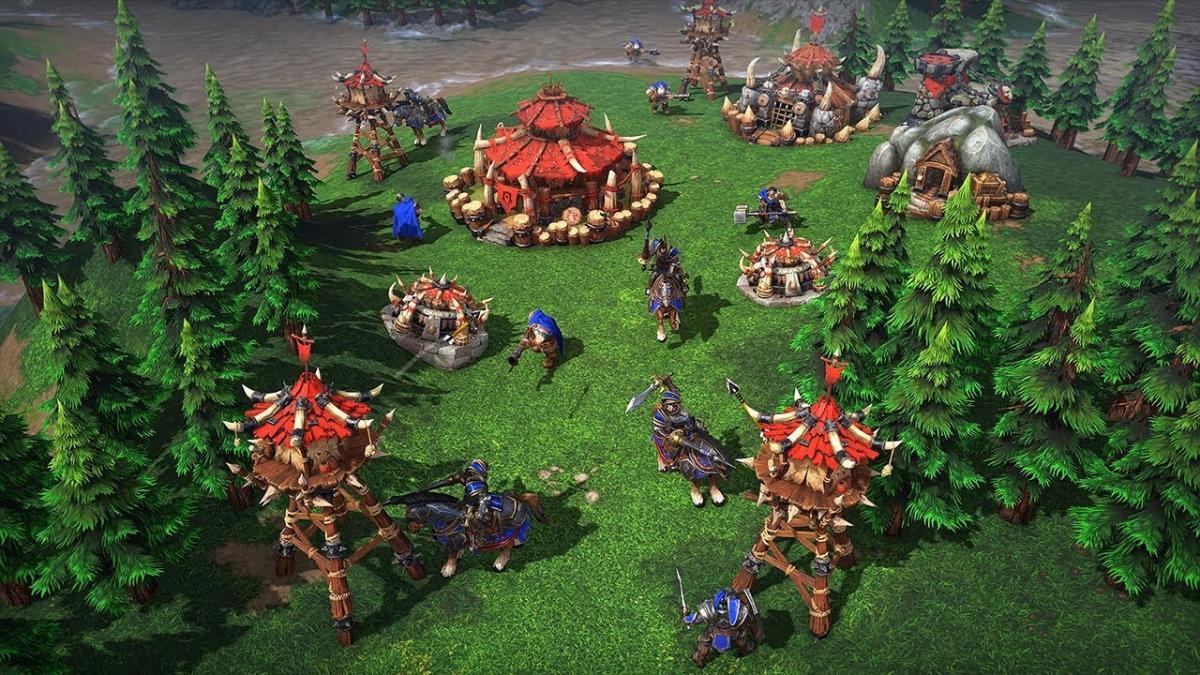 Warcraft III: Reforged скриншот