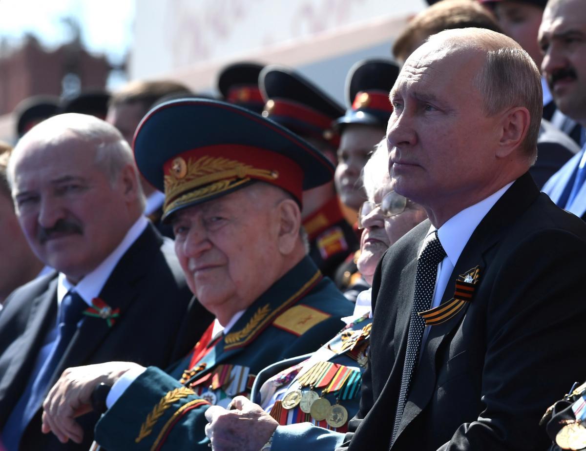 Лукашенко образився на Путіна / фото REUTERS