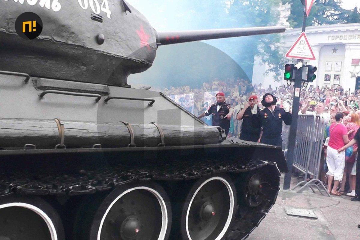 Оккупанты провели парад / pdmnews.ru
