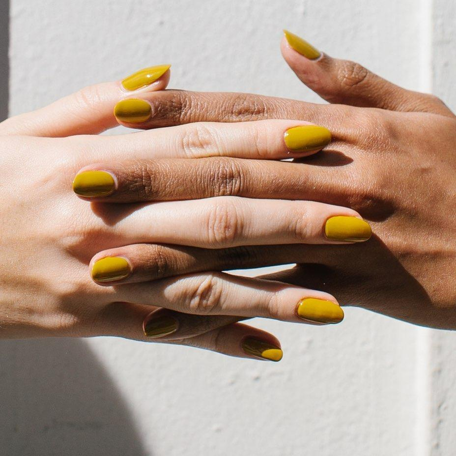 Отдайте предпочтение овальной форме ногтей / фото instagram.com/paintboxnails