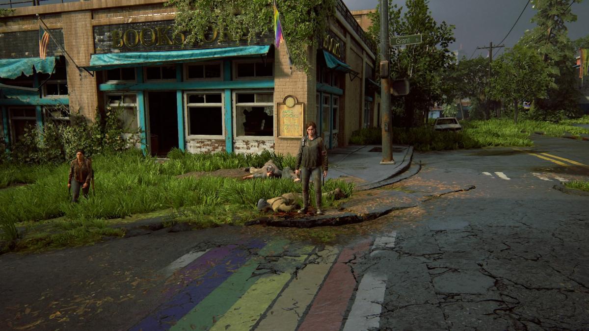 Без заигрывания с ЛГБТ в The Last of Us Part II не обошлось / скриншот