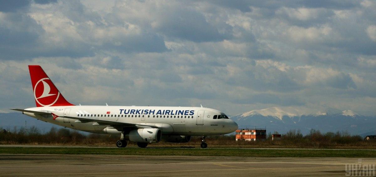 Лидером по количеству рейсов стала авиакомпания Turkish Airlines / фото УНИАН