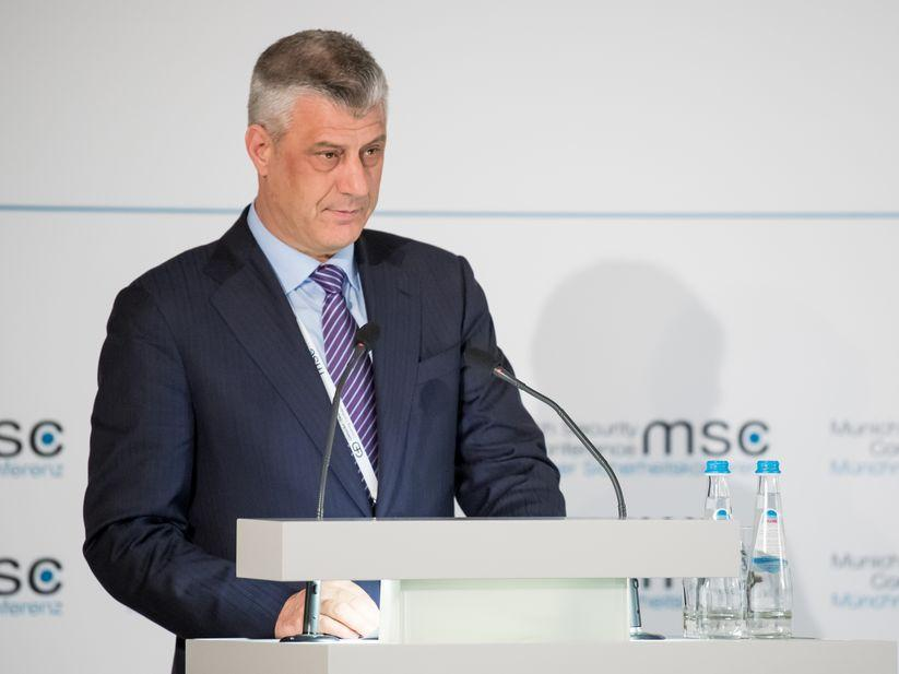 Thaci was a commanderof the Kosovo Liberation Army / Photo from securityconference.org