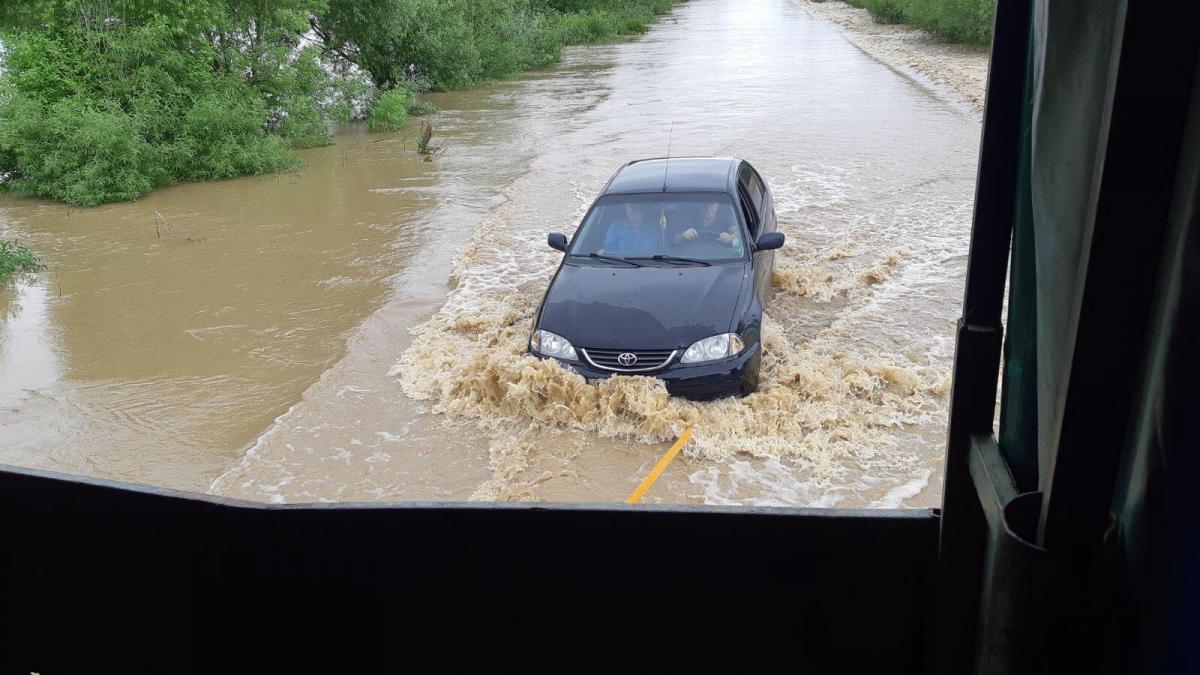 Уже завтра, 25 июня, вода в пгт Раздел повысится до 400-440 см / lv.dsns.gov.ua