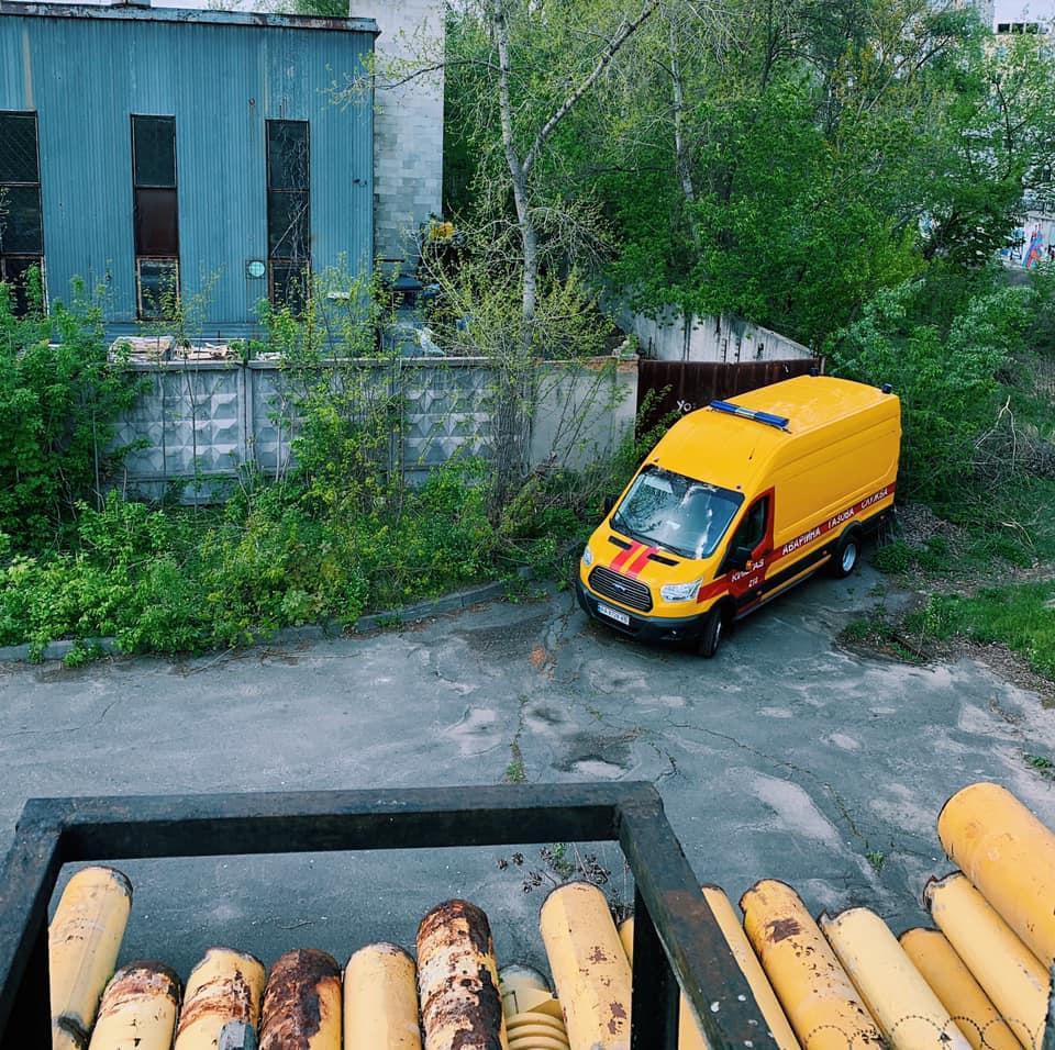 Сейчас работы приостановлены / Киевгаз