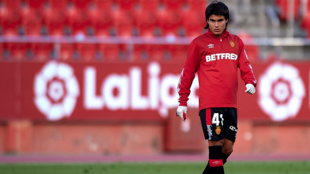 Лука Ромеро вышел на поле на 84-й минуте / фото twitter.com/rcd_mallorca