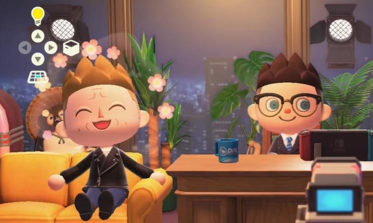 Стінг та Гері Уитта в Animal Crossing / скріншот