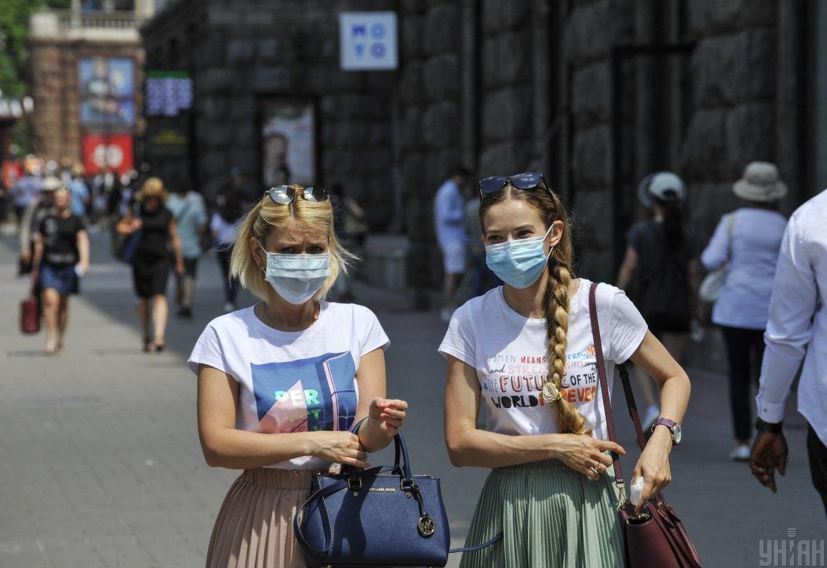 В Киеве за сутки на коронавирус заболели более трех сотен людей \ УНИАН