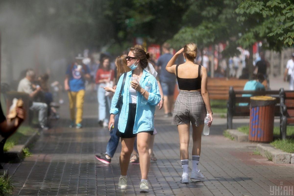 Украина в списке стран с высокими темпами распространения COVID-19 / фото УНИАН