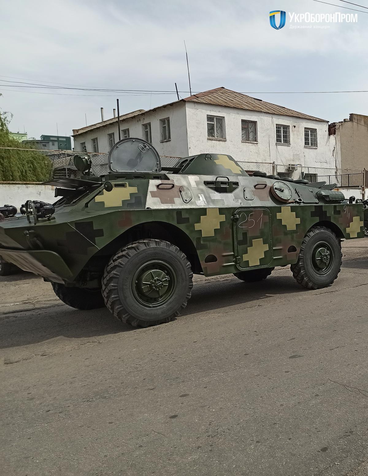 Минулого року на Миколаївському заводі відремонтували близько 100 одиниць бронетанкової техніки / фото Укроборонпром