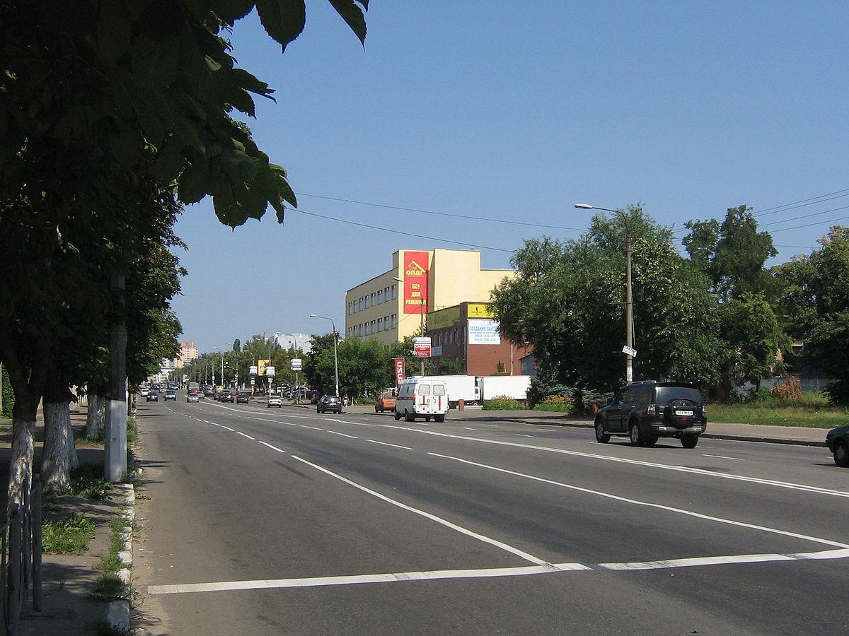 Сьогодні вночі вулицю Скляренко в Києві перекриють на ремонт / фото wikipedia.org