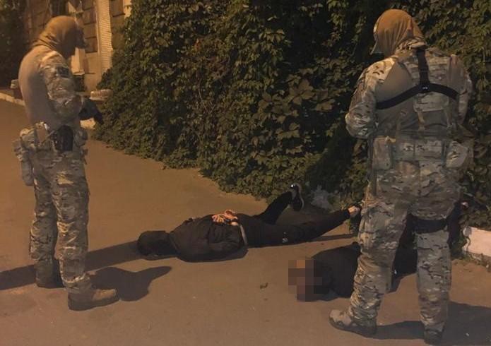 Один из задержанных прибыл в Украину после длительного проживания в РФ / фото ssu.gov.ua