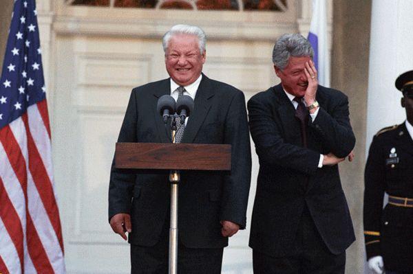 Єльцин просив Клінтона втрутитися у вибори/ National Archives