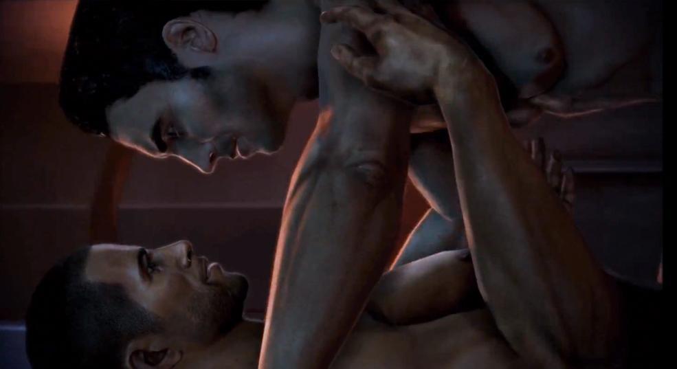 В Mass Effect такие сцены не смущали геймеров / скриншот