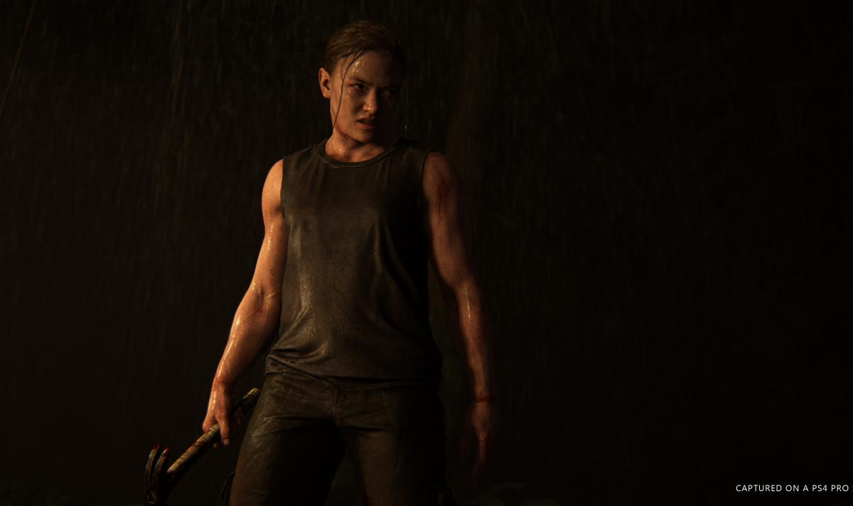 Так віглядала Еббі у The Last of Us Part II / скріншот